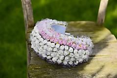 Ozdoby do vlasov - parta by michelle flowers - 6768568_