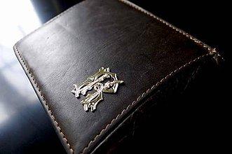 Iné šperky - Monogram na peňaženku - 6772942_
