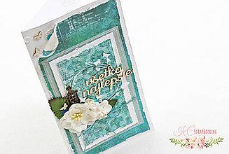 Papiernictvo - Rozkvitnutá pohľadnica - 6779436_