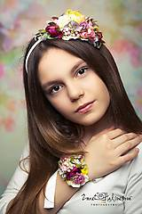 Náramky - náramok by michelle flowers - 6777250_