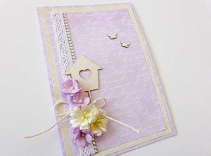 Papiernictvo - pohľadnica svadobná - 6793762_