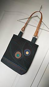 Veľké tašky - Originálna taška tmavo-modrá - 6796487_