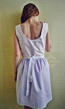Šaty - Šaty nežnobodkované 2v1 - 6801003_