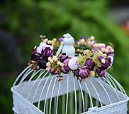 Ozdoby do vlasov - venček by michelle flowers - 6797263_