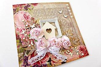 Papiernictvo - pohľadnica svadobná - 6797364_