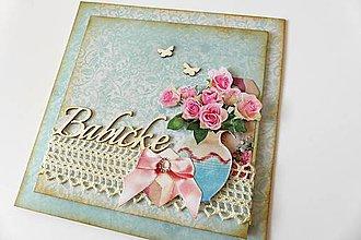 Papiernictvo - pohľadnica pre babičku - 6797841_
