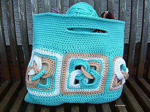 Iné tašky - Háčkovaná taška MAGIC RINGS - 6808668_