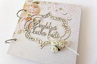 Papiernictvo - svadobná kniha hostí - 6808928_