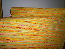 Úžitkový textil - tkane koberce zlte melirkovane - 6814904_