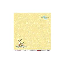Papier - Papier 30,5x30,5cm Forest Friends - Happy Deer - 6815095_
