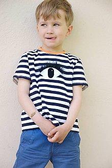 Detské oblečenie - Bavlnené tričko L☉☉K ! - 6815786_