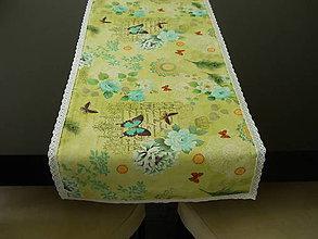 Úžitkový textil - Štóla - Vintage s krajkou - 6817921_