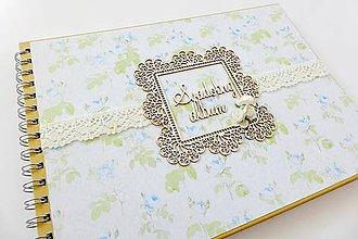 Papiernictvo - album na fotografie svadobný - 6820948_