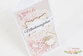 Papiernictvo - Pohľadnica pre mladomanželov - 6828725_