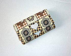 Peňaženky - Peňaženka - Srdiečková. - 6827194_