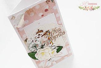 Papiernictvo - Pohľadnica Všetko najlepšie - 6838324_