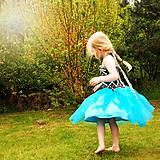 Detské oblečenie - Šaty s tylovou sukní - 6840148_