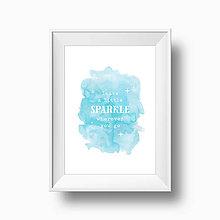 Grafika - Artprint // sparkle - 6841080_