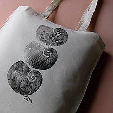 Nákupné tašky - TŘI ULITKY - taška nákupní - 6848983_