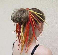 Ozdoby do vlasov - Ako slniečko - 6849512_