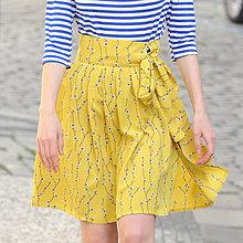 Sukne - Zavinovacia sukňa \