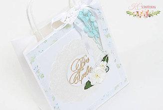 Papiernictvo - Darčeková taška Pre Teba - 6855385_