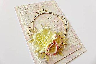 Papiernictvo - pohľadnica svadobná - 6874550_