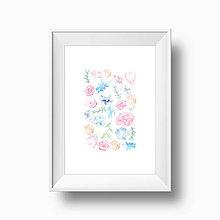 Grafika - Artprint // kvety {1} - 6875640_