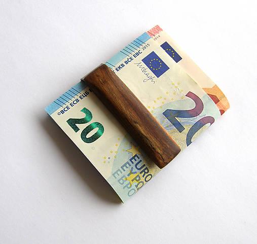 Tašky - Brestová spona na peniaze - 6879728_