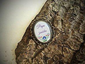 Darčeky pre svadobčanov - Brošnička na svadbu - Svedok nevestičky - 6881606_