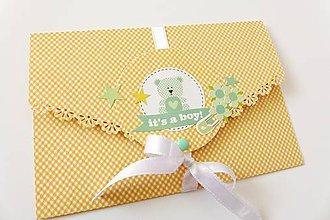 Papiernictvo - darčeková obálka - 6883316_