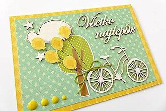 Papiernictvo - pohľadnica k narodeninám - 6886076_