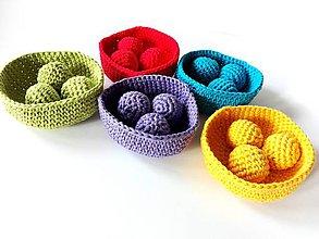 Hračky - Montessori farebná priraďovačka veľká - 6893910_