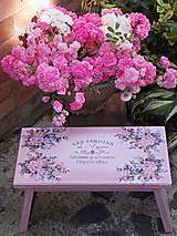 Nábytok - Šamlík xl - Ružová záhrada - 6896065_