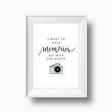 Grafika - Artprint // memories - 6897301_