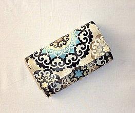 Peňaženky - Peňaženka - Mandala. - 6903518_